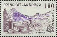[EUROPA Stamps - Inventions - Catalane Gold Works, type FK]