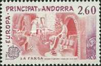 [EUROPA Stamps - Inventions - Catalane Gold Works, type FL]