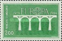 [EUROPA Stamps - The 25th Anniversary of CEPT, type FS]