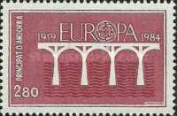 [EUROPA Stamps - The 25th Anniversary of CEPT, type FS1]