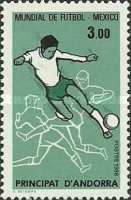 [Football World Cup - Mexico 1986, type GH]