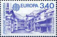 [EUROPA Stamps - Modern Architecture, type GO]