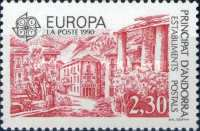 [EUROPA Stamps - Post Offices - Early and Modern Post Office, Typ HQ]