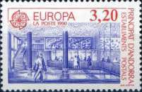 [EUROPA Stamps - Post Offices - Early and Modern Post Office, Typ HR]