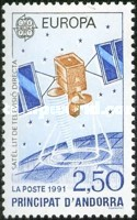 [EUROPA Stamps - European Aerospace, type IC]