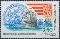 [EUROPA Stamps - Voyages of Discovery in America, type IN]