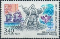 [EUROPA Stamps - Voyages of Discovery in America, type IO]