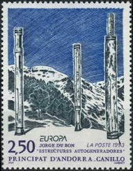 [EUROPA Stamps - Contemporary Art, type JB]