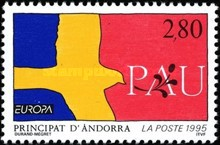 [EUROPA Stamps - Peace and Freedom, Typ JY]