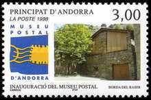 [The Opening of the Postal Museum in Andorre, Typ LY]