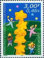 [EUROPA Stamps - Tower of 6 Stars, Typ MS]