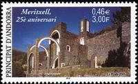 [The 25th Anniversary of Meritxell Church, Typ NO]