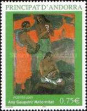 [The 100th Anniversary of the Birth of Poul Gauguin, Typ ON]