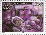 [EUROPA Stamps - Gastronomy, Typ PG]
