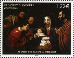 [Merry Christmas - The Adoration of the Shepherds, Typ PR]