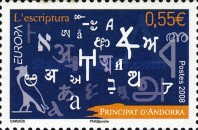 [EUROPA Stamps - Writing Letters, type RB]