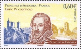 [King Enric IV - Joint Issue with France, type TU]