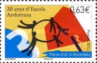 [The 30th Anniversary of the Escola Andorrana, type UD]
