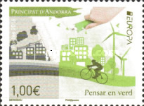 [EUROPA Stamps - Think Green, type VR]