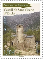 [EUROPA Stamps -  Palaces and Castles, type WE]
