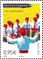 [Traditional Singing - Les Caramelles, Typ WU]