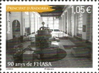 [The 90th Anniversary of the FHASA - Hydroelectric Power Company of Andorra, Typ XM]