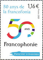 [The 50th Anniversary of La Francophonie, type XZ]