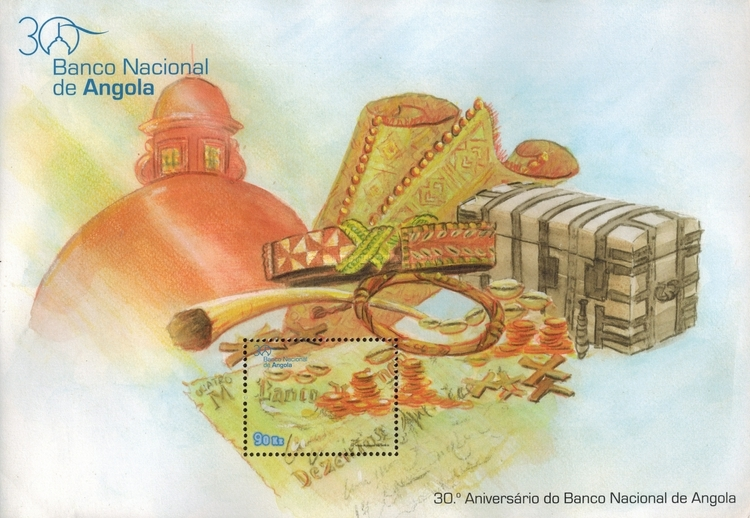 [The 30th Anniversary of the National Bank of Angola, Typ ]