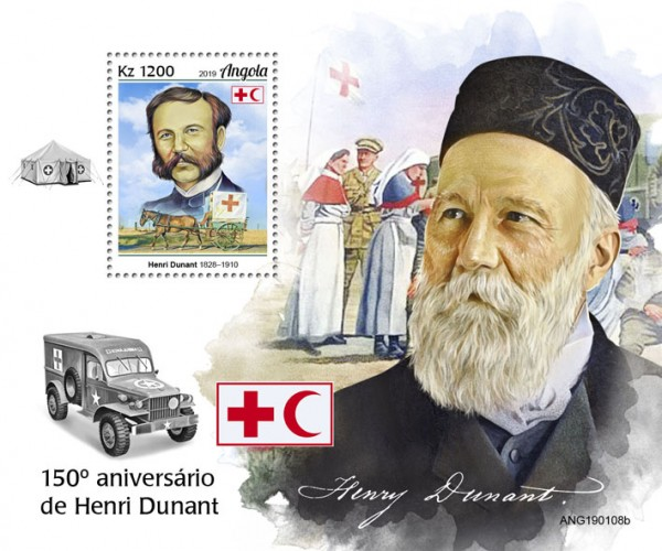 [The 150th Anniversary of Henry Dunant, 1828-1910, type ]