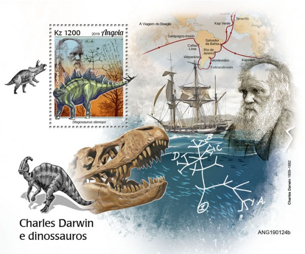 [Charles Darwin and Dinosaurs, type ]