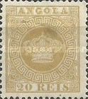 [Portuguese Crown - Thick Paper, type A11]