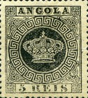 [Portuguese Crown - Different Perforation, type A15]