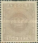 [Portuguese Crown - Thin paper, type A6]