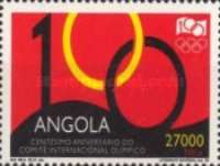 [The 100th Anniversary of the International Olympic Committee, Typ AAH]