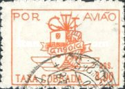 [Airmail - Coat of Arms of the Colony, Typ BA2]