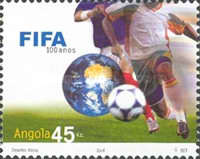[The 100th Anniversary of FIFA, Federation Internationale de Football Association, Typ BDL]