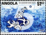 [Angola - Five Years of Peace, Typ BEU]