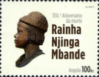 [The 350th Anniversary of the Death of Rainha Njinga Mbande, 1583-1666, Typ BIT]