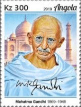 [The 150th Anniversary of the Birth of Mahatma Gandhi, 1869-1948, type BRD]
