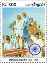 [The 150th Anniversary of the Birth of Mahatma Gandhi, 1869-1948, type BRE]
