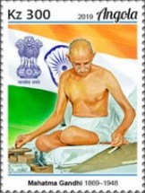 [The 150th Anniversary of the Birth of Mahatma Gandhi, 1869-1948, type BRF]