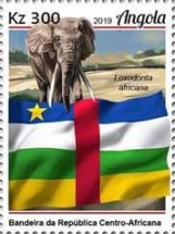 [African Flags, type BRQ]