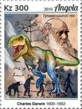 [Charles Darwin and Dinosaurs, type BUD]