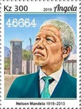 [The 100th Anniversary of the Birth of Nelson Mandela, 1918-2013, type BUF]