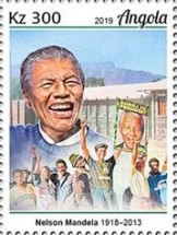 [The 100th Anniversary of the Birth of Nelson Mandela, 1918-2013, type BUG]