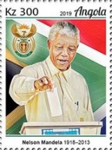 [The 100th Anniversary of the Birth of Nelson Mandela, 1918-2013, type BUH]