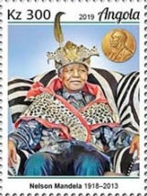[The 100th Anniversary of the Birth of Nelson Mandela, 1918-2013, type BUI]