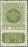[Philatelic Exhibition and the 80th Anniversary of the First Angolan Stamp, Typ BW]