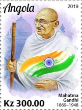 [The 150th Anniversary of the Birth of Mahatma Gandhi, 1869-1948, type BWC]