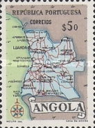 [Map of Angola, Typ DX2]
